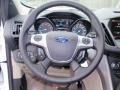 2014 White Platinum Ford Escape SE 2.0L EcoBoost  photo #34