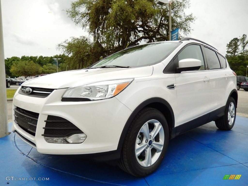 2014 Escape SE 2.0L EcoBoost - White Platinum / Medium Light Stone photo #1