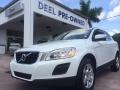 Ice White 2011 Volvo XC60 3.2