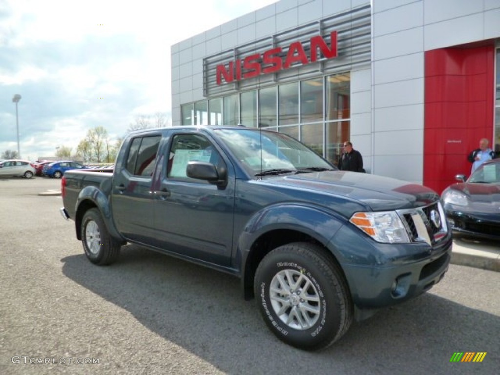 2014 Graphite Blue Nissan Frontier Sv Crew Cab 4x4 93039168 Car Color Galleries