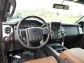 2015 Ford F250 Super Duty Platinum Pecan Interior Dashboard Photo