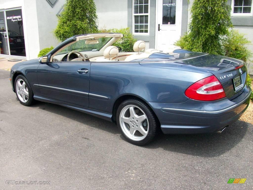 2004 Cadet Blue Metallic Mercedes Benz Clk 500 Cabriolet 9279217 Photo 11 Gtcarlot Com Car