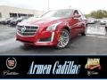 Red Obsession Tintcoat 2014 Cadillac CTS Luxury Sedan AWD