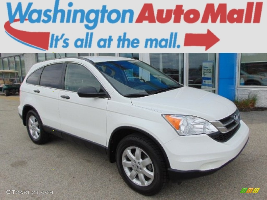 2011 CR-V SE 4WD - Taffeta White / Gray photo #1