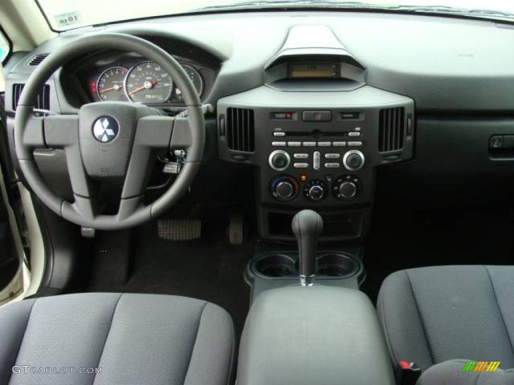 2006 endeavor ls awd dover white pearl charcoal photo 11