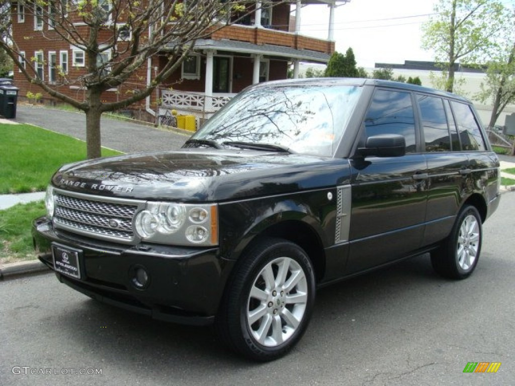 Java Black Pearl Land Rover Range Rover