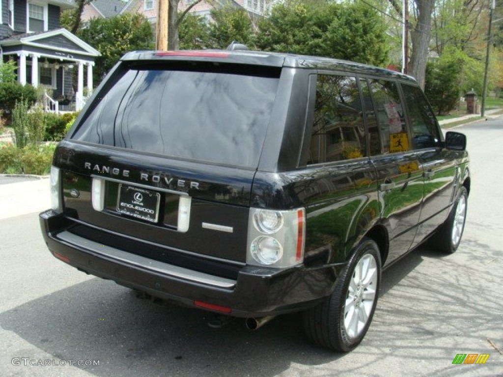2006 Range Rover Supercharged - Java Black Pearl / Charcoal/Jet photo #4