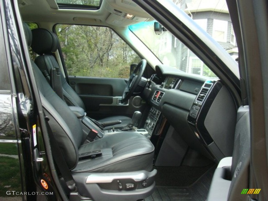 2006 Range Rover Supercharged - Java Black Pearl / Charcoal/Jet photo #10