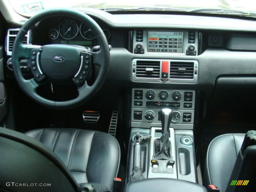 2006 Range Rover Supercharged - Java Black Pearl / Charcoal/Jet photo #11