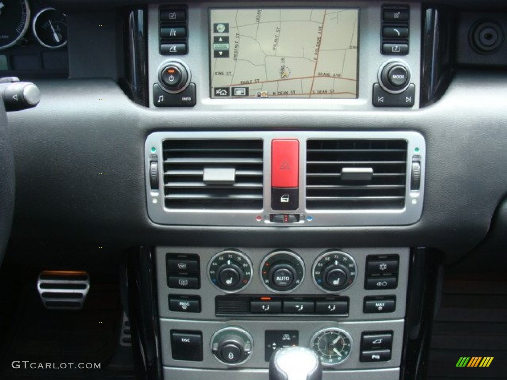 2006 Range Rover Supercharged - Java Black Pearl / Charcoal/Jet photo #17