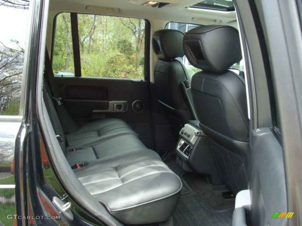 2006 Range Rover Supercharged - Java Black Pearl / Charcoal/Jet photo #20