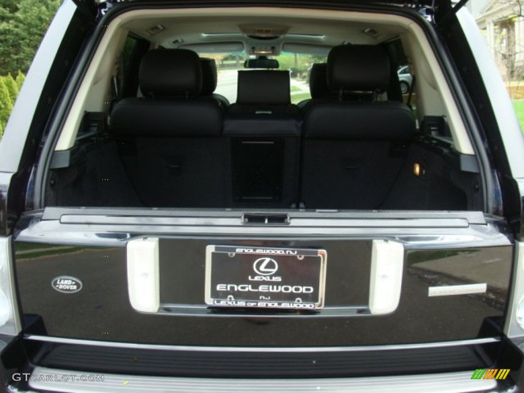 2006 Range Rover Supercharged - Java Black Pearl / Charcoal/Jet photo #21