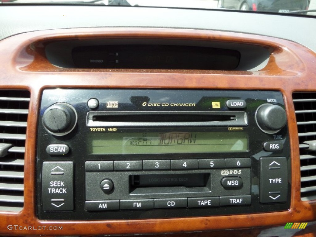 2003 toyota camry xle v6 audio system photo 93135266. Black Bedroom Furniture Sets. Home Design Ideas