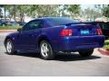 2004 Sonic Blue Metallic Ford Mustang V6 Coupe  photo #2