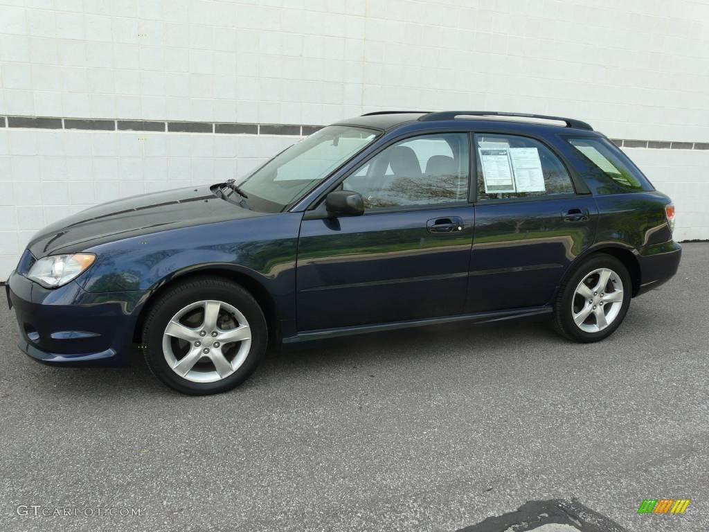 2006 Regal Blue Pearl Subaru Impreza 2 5i Wagon 9288393
