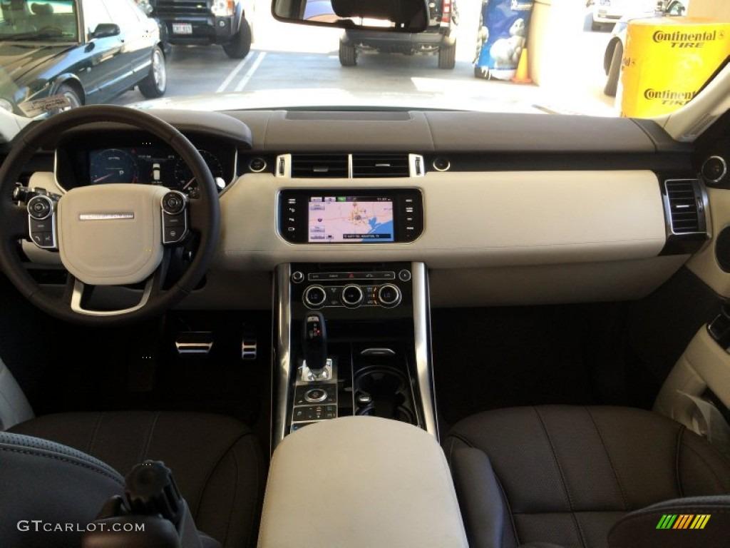 Espresso Ivory Espresso Interior 2014 Land Rover Range Rover Sport Autobiography Photo 93154894