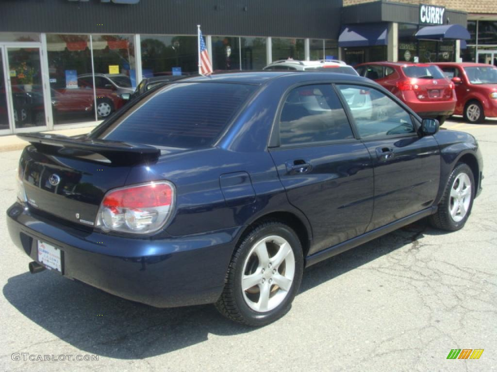 2006 impreza 2 5i sedan regal blue pearl anthracite black photo 5