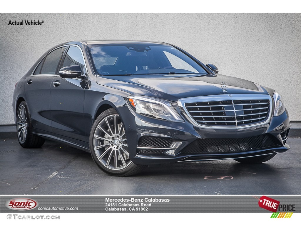2015 anthracite blue metallic mercedes benz s 550 sedan 93137752 photo 2 car. Black Bedroom Furniture Sets. Home Design Ideas