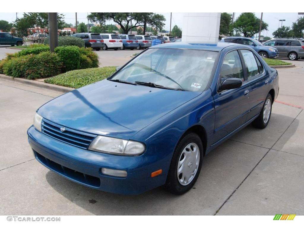 1997 Blue Emerald Pearl Nissan Altima Se 9276211 Photo 3