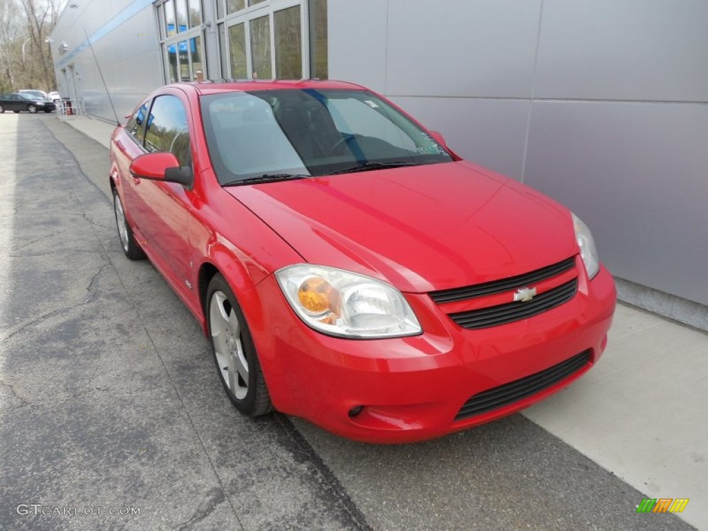 victory red 2006 chevrolet cobalt ss coupe exterior photo. Black Bedroom Furniture Sets. Home Design Ideas