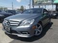 Palladium Silver Metallic 2011 Mercedes-Benz E 550 Coupe
