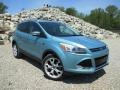 Frosted Glass Metallic 2013 Ford Escape Titanium 2.0L EcoBoost 4WD Exterior