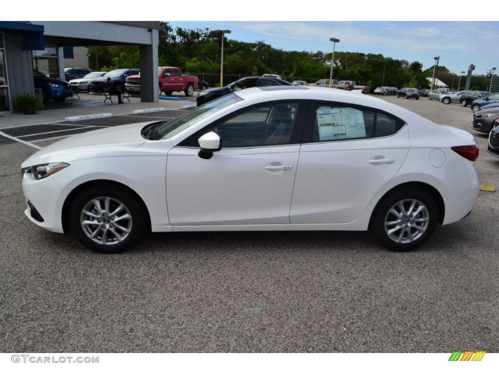 Snowflake White Pearl 2014 Mazda MAZDA3 i Grand Touring 4 ...2015 Mazda 3 White Paint Scrape Repair