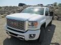 Summit White - Sierra 2500HD Denali Crew Cab 4x4 Photo No. 2