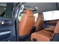 2014 Toyota Tundra 1794 Edition Premium Brown Interior Rear Seat Photo