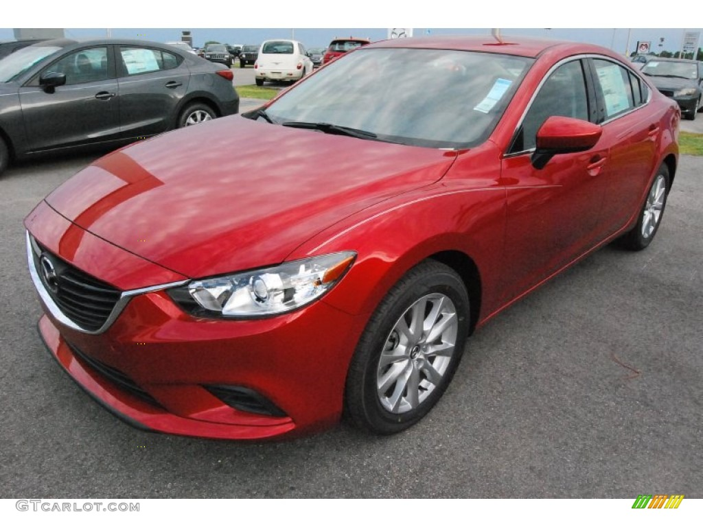 2015 soul red metallic mazda mazda6 sport 93197851. Black Bedroom Furniture Sets. Home Design Ideas