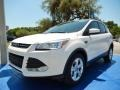 2014 White Platinum Ford Escape SE 1.6L EcoBoost  photo #1