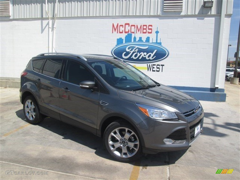 2014 Escape Titanium 1.6L EcoBoost - Sterling Gray / Charcoal Black photo #1