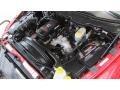 2008 Inferno Red Crystal Pearl Dodge Ram 3500 SLT Quad Cab 4x4 Dually  photo #13