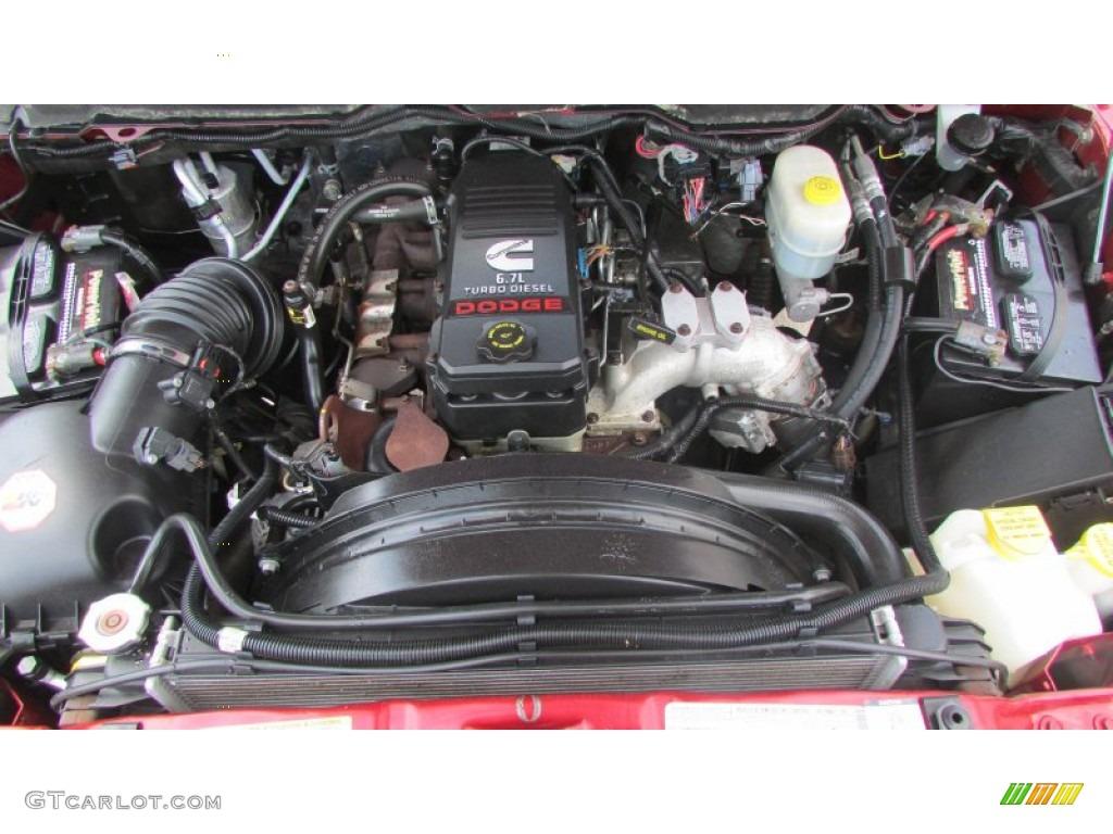 2008 Ram 3500 SLT Quad Cab 4x4 Dually - Inferno Red Crystal Pearl / Medium Slate Gray photo #14