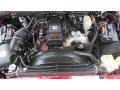 2008 Inferno Red Crystal Pearl Dodge Ram 3500 SLT Quad Cab 4x4 Dually  photo #14