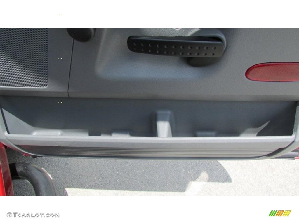 2008 Ram 3500 SLT Quad Cab 4x4 Dually - Inferno Red Crystal Pearl / Medium Slate Gray photo #32
