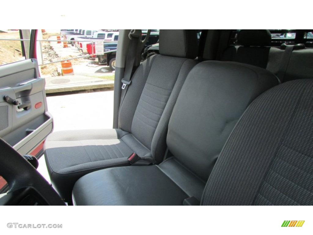 2008 Ram 3500 SLT Quad Cab 4x4 Dually - Inferno Red Crystal Pearl / Medium Slate Gray photo #34