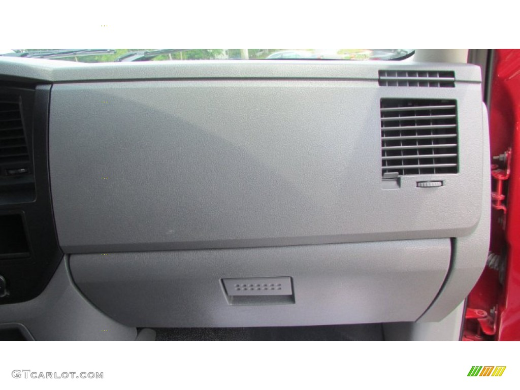2008 Ram 3500 SLT Quad Cab 4x4 Dually - Inferno Red Crystal Pearl / Medium Slate Gray photo #35
