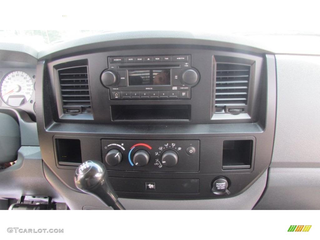 2008 Ram 3500 SLT Quad Cab 4x4 Dually - Inferno Red Crystal Pearl / Medium Slate Gray photo #37