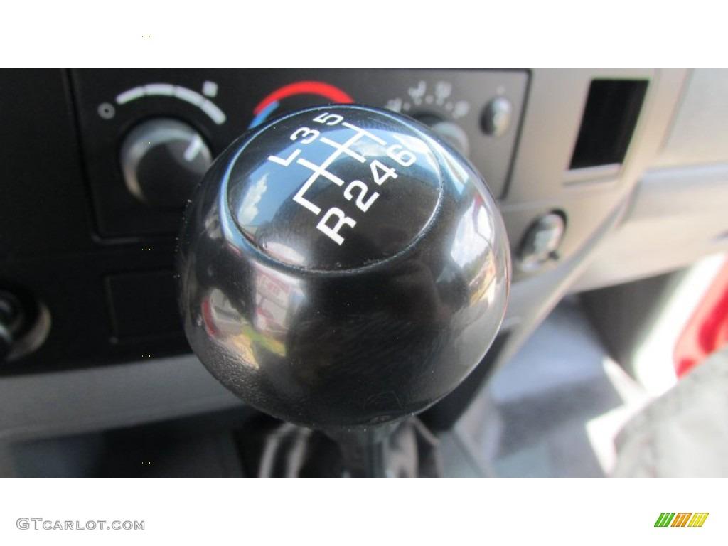 2008 Ram 3500 SLT Quad Cab 4x4 Dually - Inferno Red Crystal Pearl / Medium Slate Gray photo #45