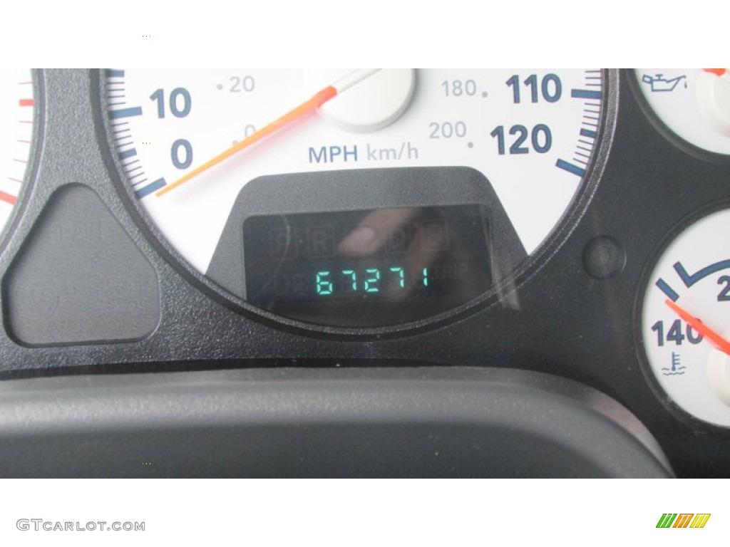 2008 Ram 3500 SLT Quad Cab 4x4 Dually - Inferno Red Crystal Pearl / Medium Slate Gray photo #52