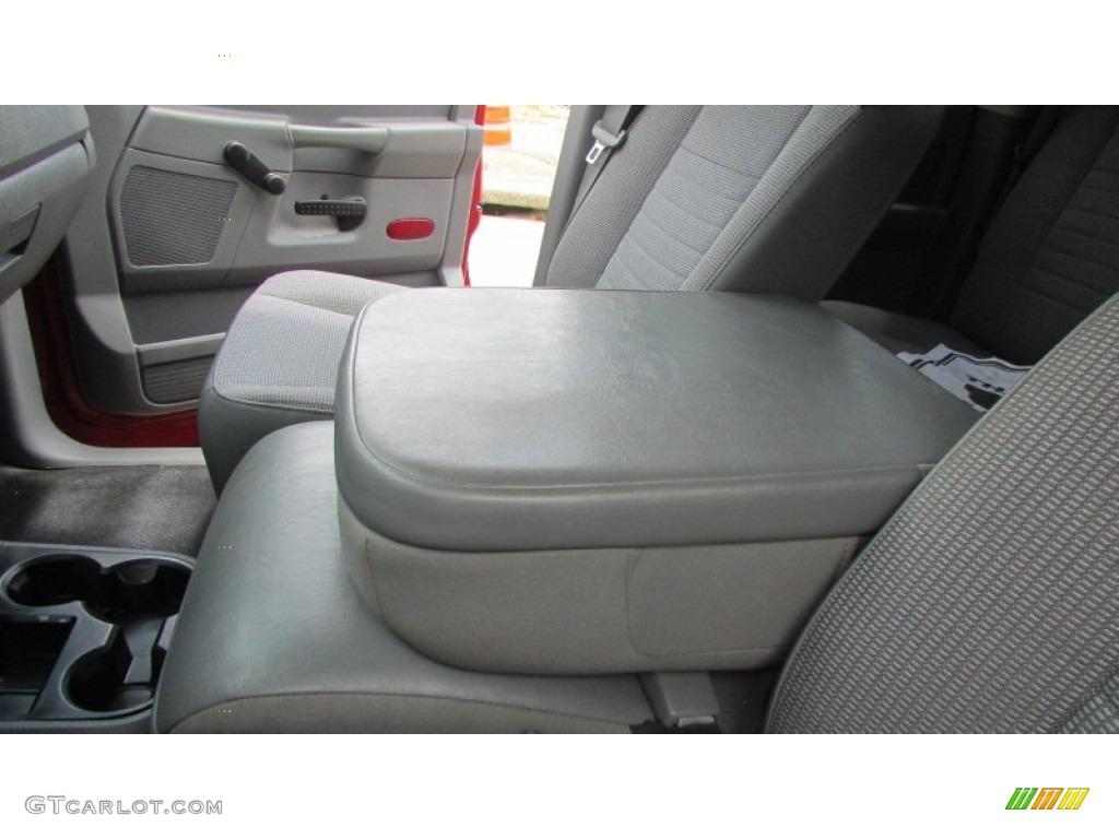 2008 Ram 3500 SLT Quad Cab 4x4 Dually - Inferno Red Crystal Pearl / Medium Slate Gray photo #62