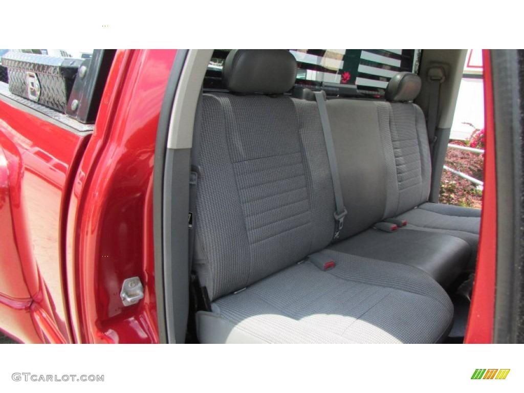 2008 Ram 3500 SLT Quad Cab 4x4 Dually - Inferno Red Crystal Pearl / Medium Slate Gray photo #72