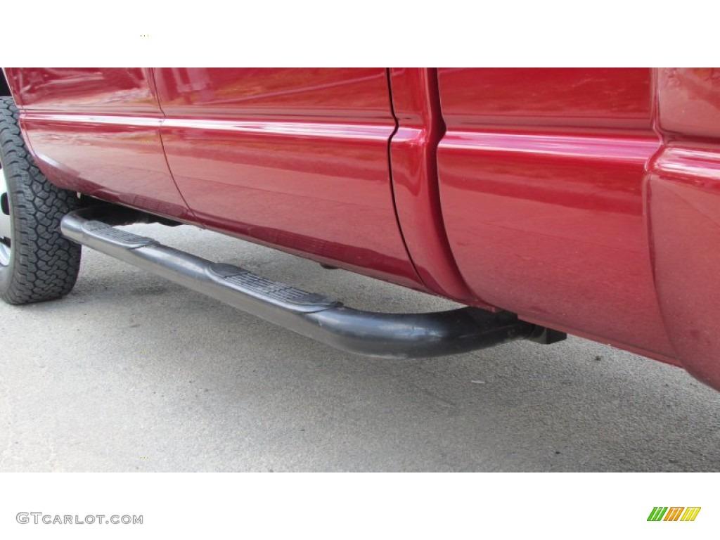2008 Ram 3500 SLT Quad Cab 4x4 Dually - Inferno Red Crystal Pearl / Medium Slate Gray photo #79