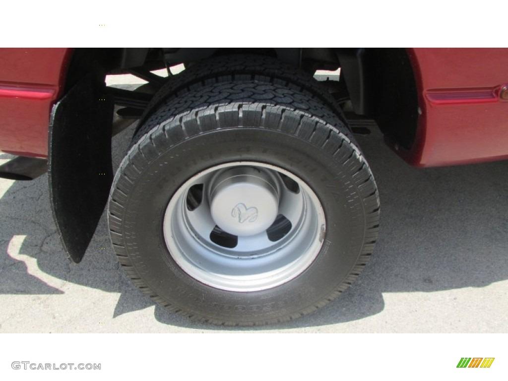 2008 Ram 3500 SLT Quad Cab 4x4 Dually - Inferno Red Crystal Pearl / Medium Slate Gray photo #83
