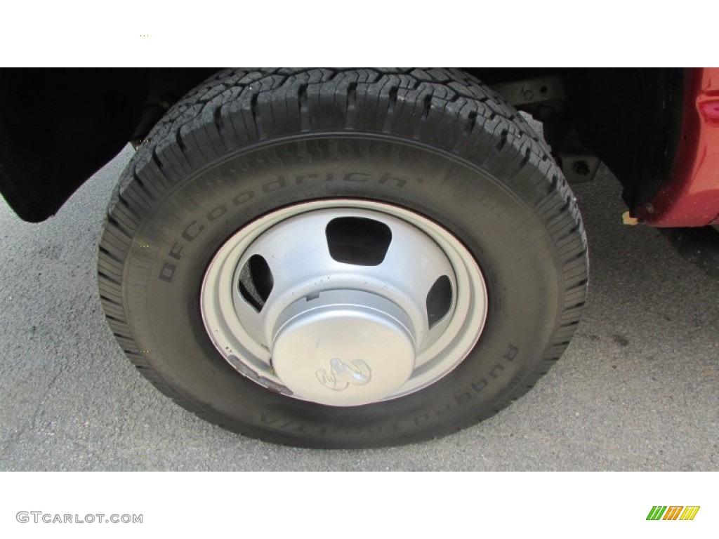 2008 Ram 3500 SLT Quad Cab 4x4 Dually - Inferno Red Crystal Pearl / Medium Slate Gray photo #85