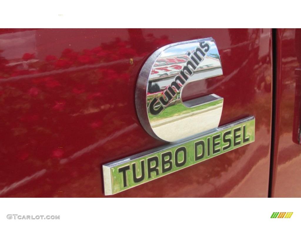 2008 Ram 3500 SLT Quad Cab 4x4 Dually - Inferno Red Crystal Pearl / Medium Slate Gray photo #90