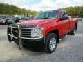 2012 Victory Red Chevrolet Silverado 1500 Work Truck Regular Cab 4x4  photo #3