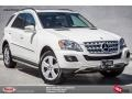 Arctic White 2011 Mercedes-Benz ML 350