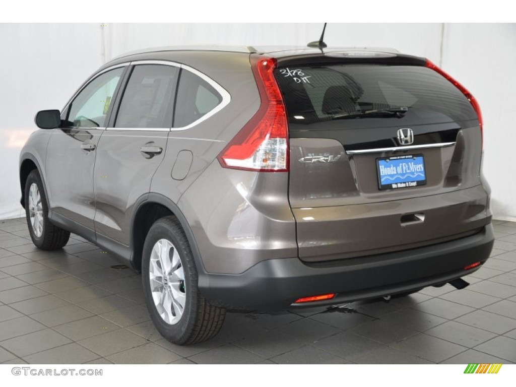 2014 CR-V EX-L - Urban Titanium Metallic / Black photo #6
